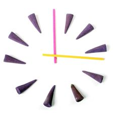 Free Clock By Aroma Sticks Stock Photos - 8171123