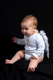 Free Little Angel Stock Photo - 8171140