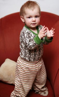 Free Small Baby Girl Royalty Free Stock Photography - 8171297
