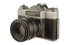 Free Old Photo Camera Royalty Free Stock Image - 8171386