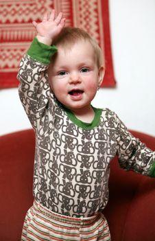 Free Small Baby Girl Royalty Free Stock Photo - 8171425