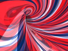 Free Psychedelic Image Of Swirling Colour Lines Royalty Free Stock Photos - 8171468