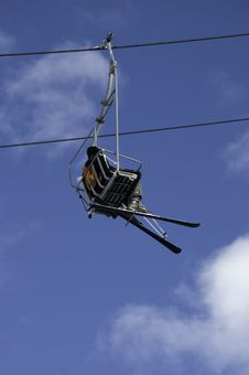 Free Chair Lift Royalty Free Stock Photos - 8171938