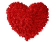 Free Fluffy Heart Stock Images - 8172044