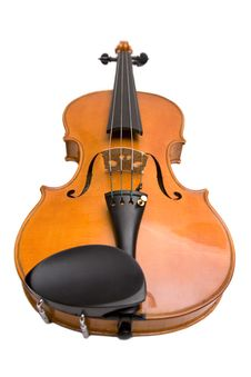 Free Violin On A White Background Stock Photo - 8172220