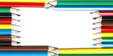 Free Colored Pencils Royalty Free Stock Image - 8172376