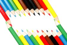Free Colored Pencils Royalty Free Stock Image - 8172386