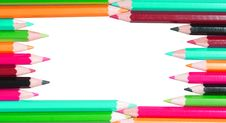 Free Colored Pencils Royalty Free Stock Images - 8172389