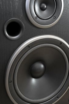 Free Powered Acoustic System Royalty Free Stock Image - 8172756