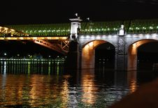 Free Drawbridge In St. Petersburg, River Neva Stock Image - 8173051
