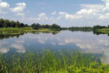 Free Summer Landscape Stock Image - 8173191