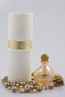 Free Two Perfume Bottles Stock Photos - 8173643