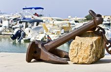 Free Anchor Rest For Decoration Stock Photo - 8173850