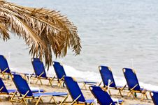 Free View Of A Beach In Greece Stock Photography - 8173862