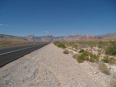 Free Desert Road Stock Photos - 8176163