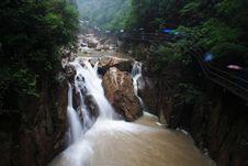 Free Waterfall Royalty Free Stock Image - 8176256