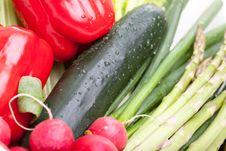 Arragement Of Vegetables
