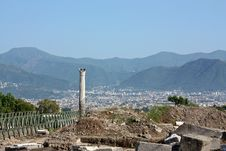 Free Excavations In Pompeii Royalty Free Stock Images - 8177049