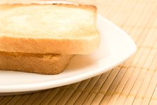 Free Toasts Royalty Free Stock Image - 8178196