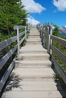 Free Wooden Walkway Stock Image - 8178571