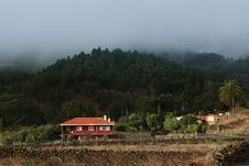 Small House On La Palma Stock Photography