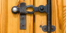 Free Door Lock Royalty Free Stock Photos - 8179358