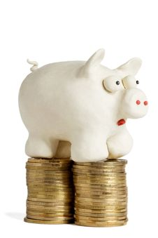 Free Piggy Bank Royalty Free Stock Images - 8179609