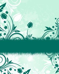 Free Green Floral Background Stock Photo - 8179940
