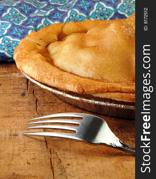Apple Pie with Fork