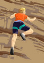 Free Rock Climb Sport Stock Images - 8188404