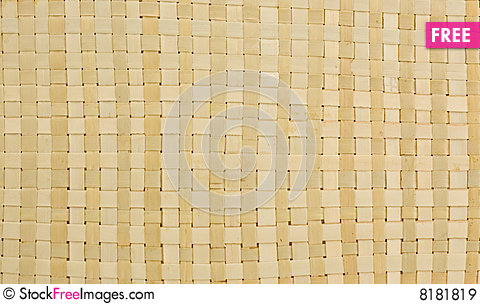 Weaving from straw-texture Stock Photo