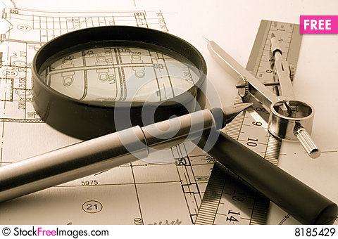 Architecture blueprint free stock images photos 8185429 architecture blueprint malvernweather Choice Image