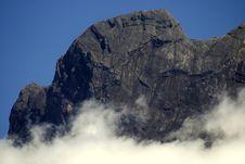 Free Mount Kinabalu Royalty Free Stock Photography - 8180477