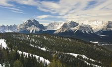 Free Banff National Park Royalty Free Stock Image - 8180496
