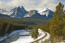 Free Banff National Park Royalty Free Stock Photography - 8180947