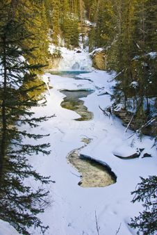 Free Johnston Canyon, Banff NP Royalty Free Stock Images - 8180969
