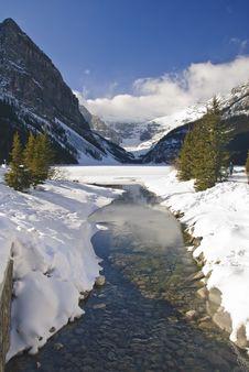 Free Lake Louise In Winter Stock Photo - 8181030