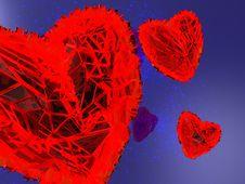 Free Abstract Hearts Stock Photos - 8181103