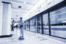 Free Subway Station Royalty Free Stock Photo - 8181285