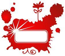 Free Red Grunge Frame Royalty Free Stock Photos - 8181538