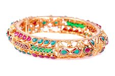 Free Golden Bracelets Stock Photos - 8182413