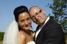 Free Happy Wedding Couple Stock Photos - 8182423