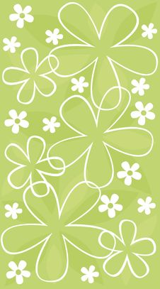 Free Floral Wallpaper Stock Image - 8182781