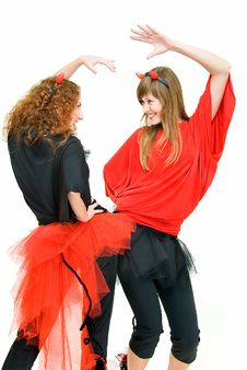 Free Imps Dance Royalty Free Stock Photos - 8183668