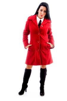Free Female Model In Overcoat Stock Photo - 8184060