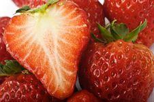 Free Strawberry Closeup Stock Image - 8185091