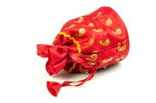 Gift Pouch Royalty Free Stock Image