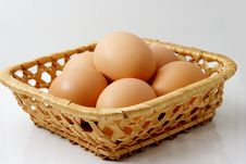Free Frown Eggs Stock Photography - 8185572
