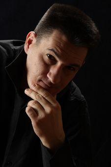 Free Man Portrait Stock Photos - 8185783