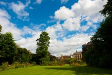 Free Clare College Gardens Cambridge University Royalty Free Stock Images - 8185829